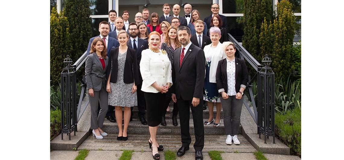 Reception to Honor Newest Cohort of Kosciuszko Foundation Fellows