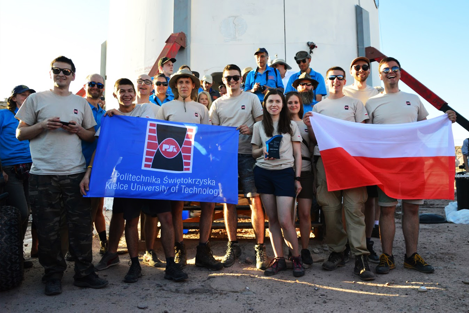 Polscy studenci mistrzami świata w University Rover Challenge