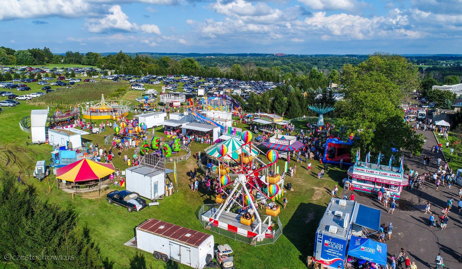 Polish-American Family Festival & Country Fair in Doylestown, PA