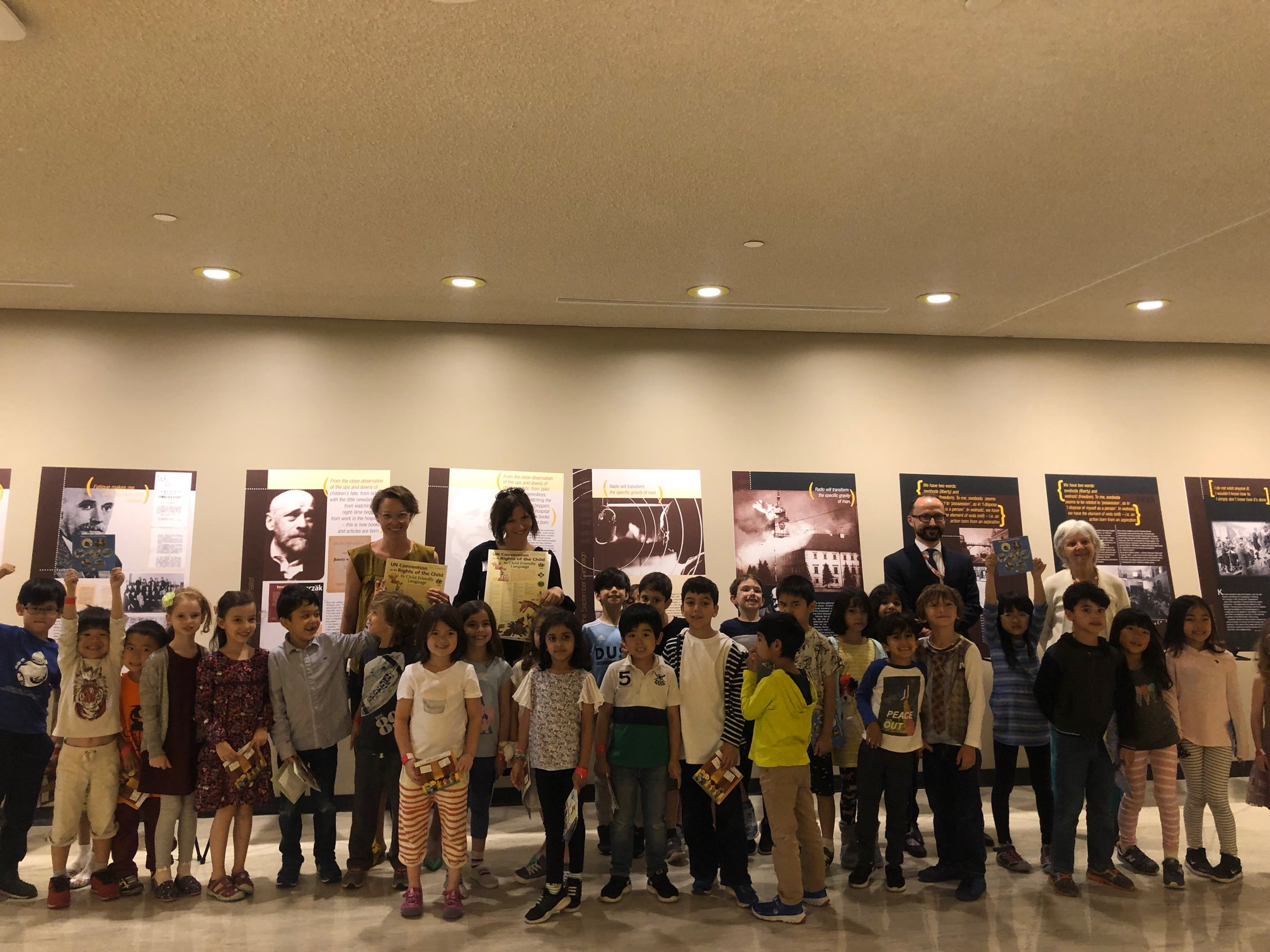 "NYC: Exhibition ""Janusz Korczak: Champion of the Children"" at the United Nations"