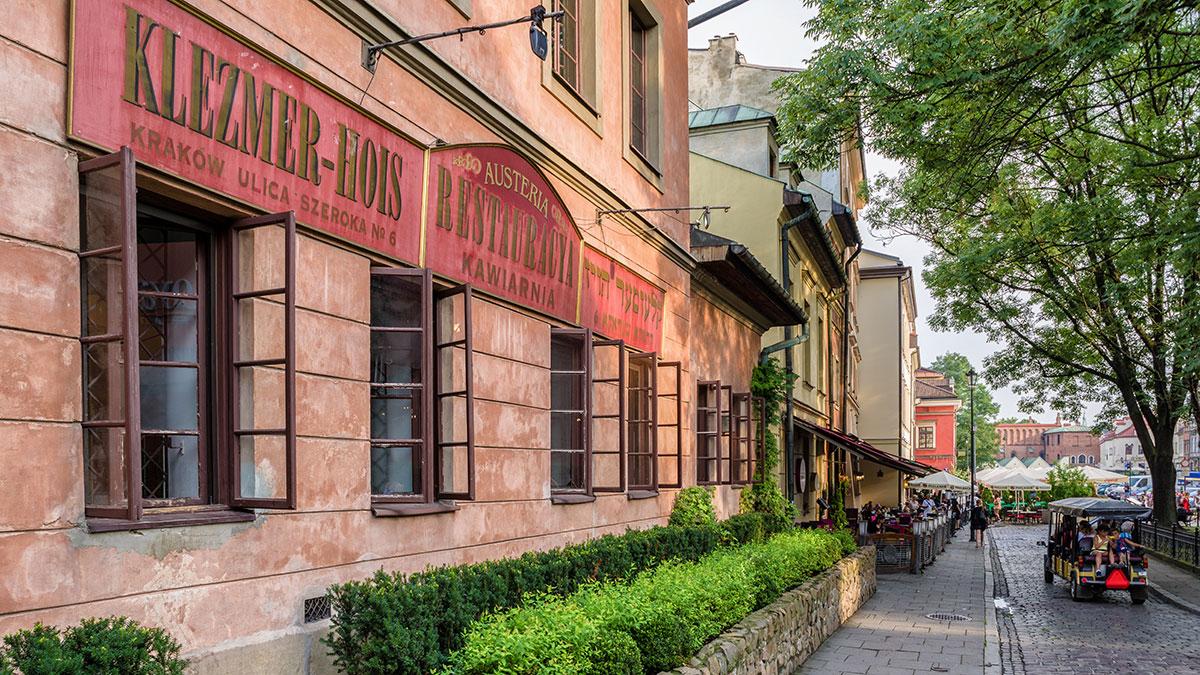 The old Jewish quarter called Kazimierz in Krakow. Foto Jarino47