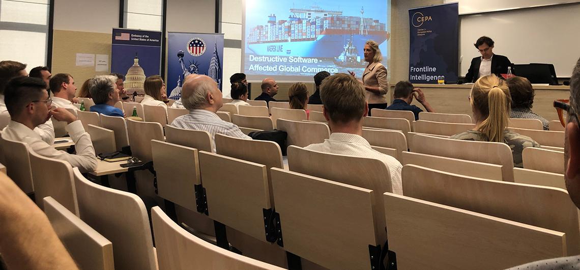 Ekspertka od cyberbezpieczeństwa, Melissa Hathaway z wykładem Cybersecurity in the Midst of Global Challenges w Polsce