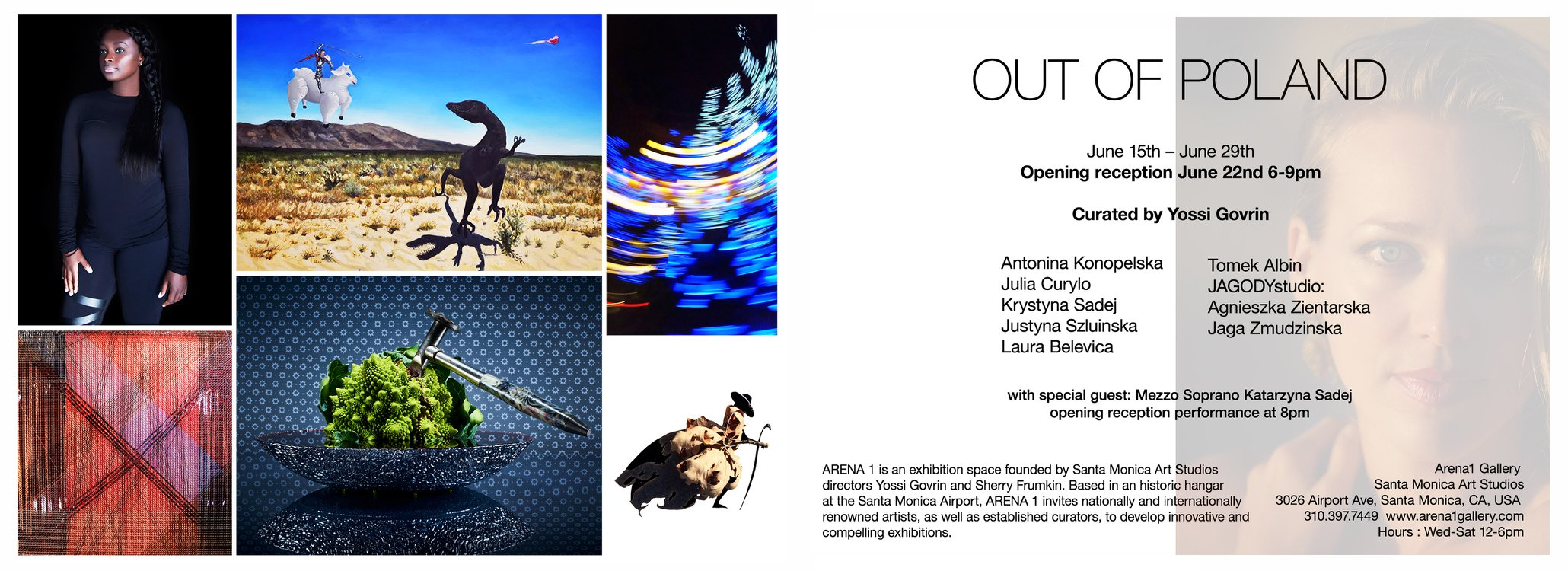 OUT OF POLAND, a group exhibition in Santa Monica, CA