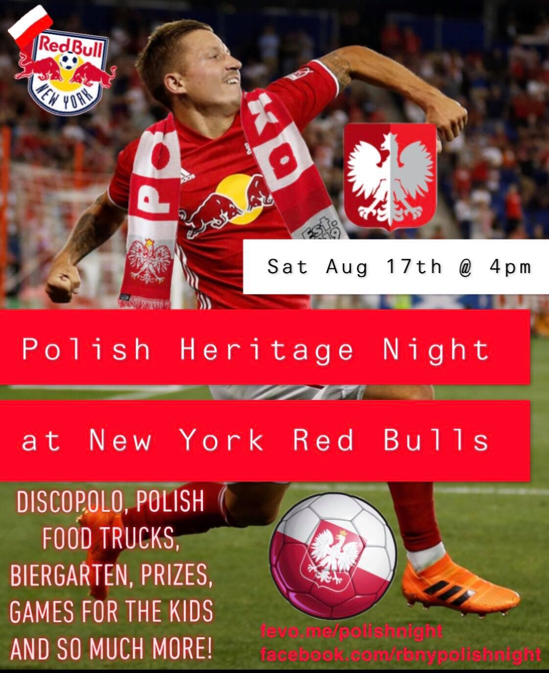 Polish Heritage Night 2019 at Red Bull Arena in Harrison, NJ