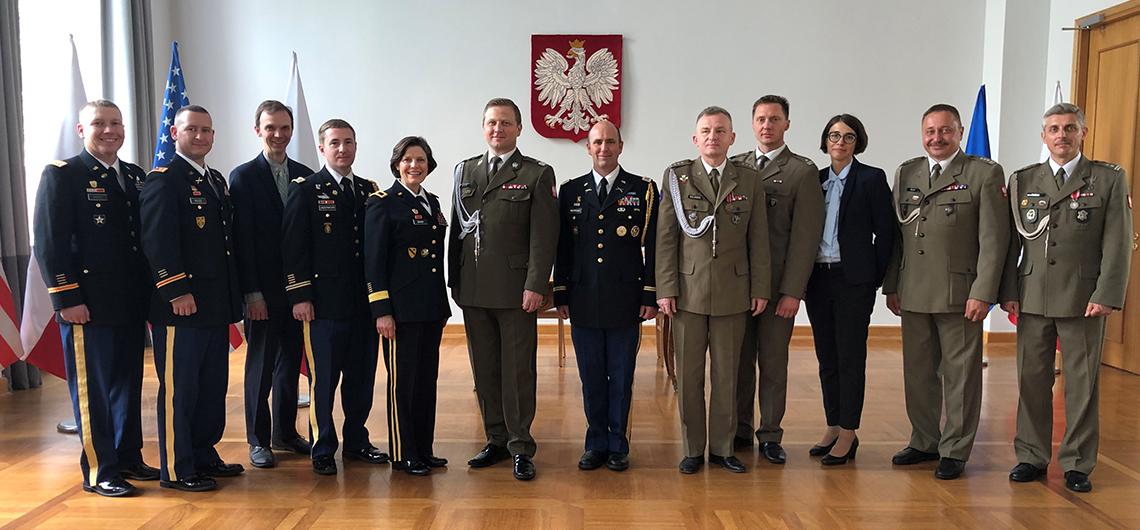 Polsko-amerykańskie porozumienie o współpracy w zakresie obrony cyberprzestrzeni podpisane