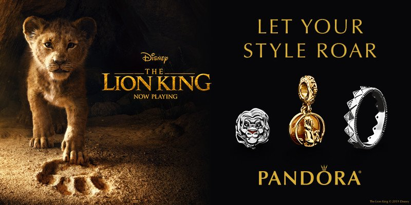 "New Disney's ""The Lion King"" Jewelry from Pandora"