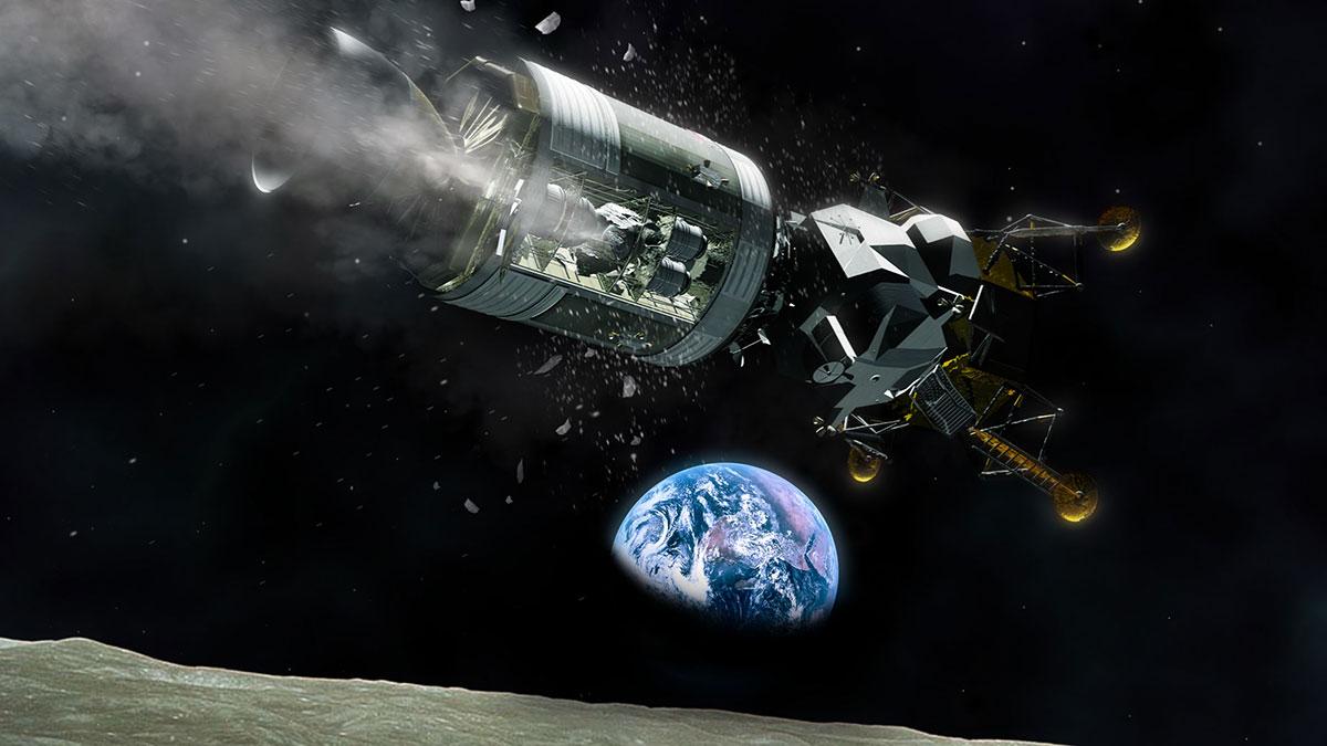 Człowiek stanął na Księżycu 50 lat temu. Rocznica lądowania na kanale ITVN Extra !