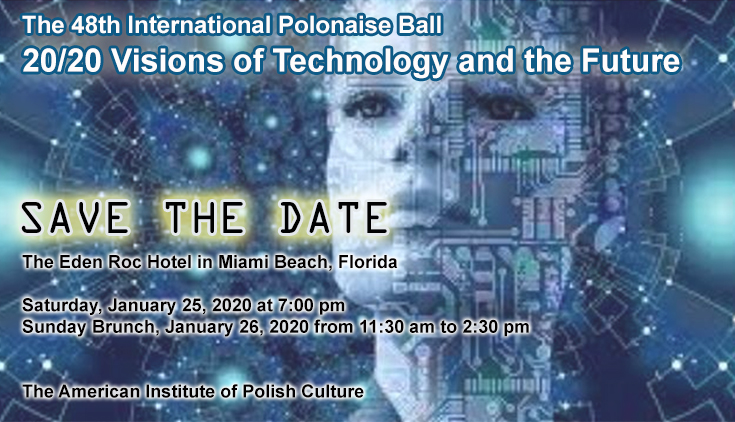 International Polonaise Ball with NASA Engineer Artur Chmielewski and NBA Star Marcin Gortat in Miami, FL