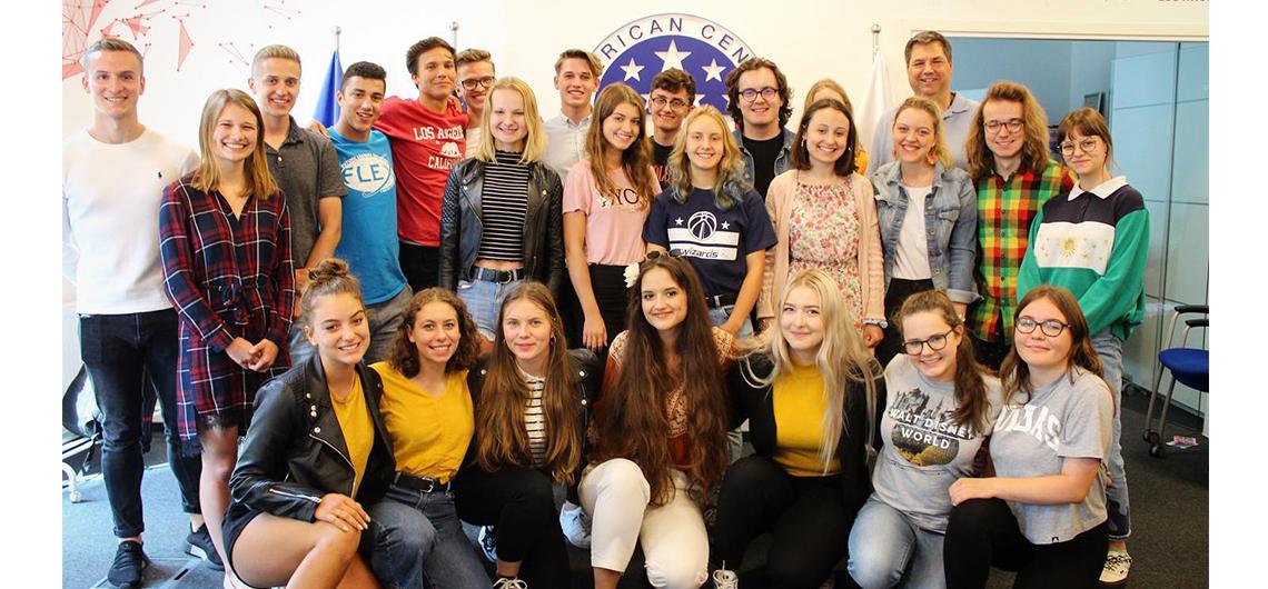 Polscy licealiści powrócili z rocznego pobytu w USA