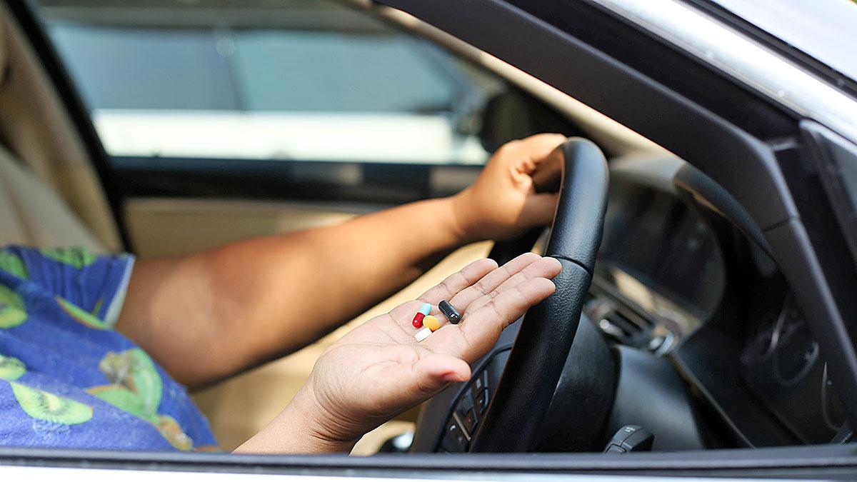 Jazda samochodem pod wpływew leków i narkotyków - DUI