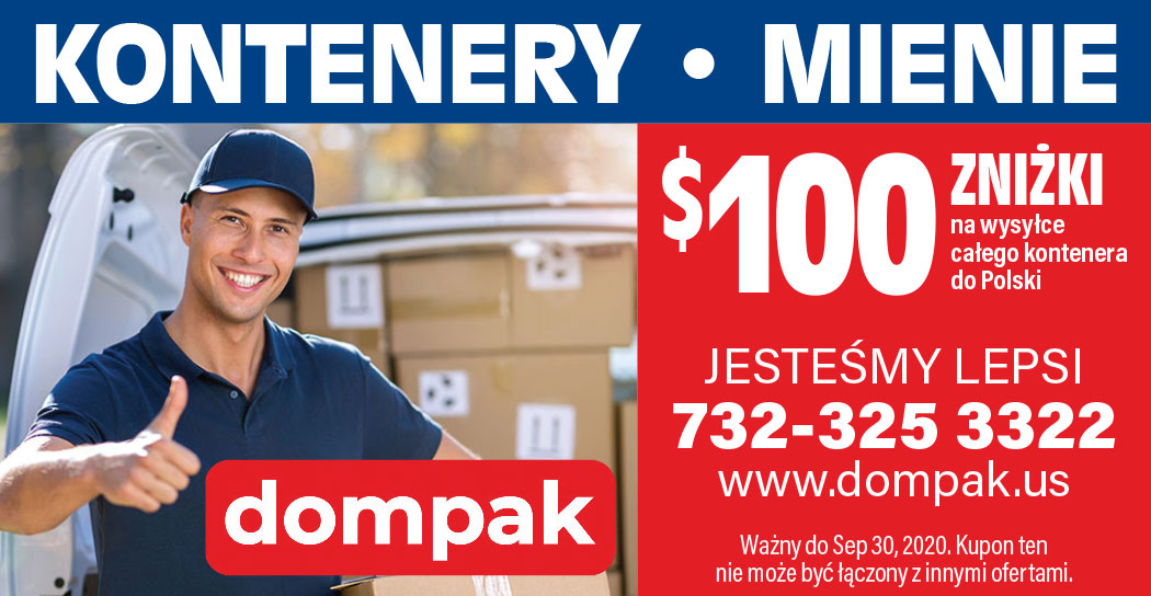 $100 zniżki na kontenery do Polski z USA