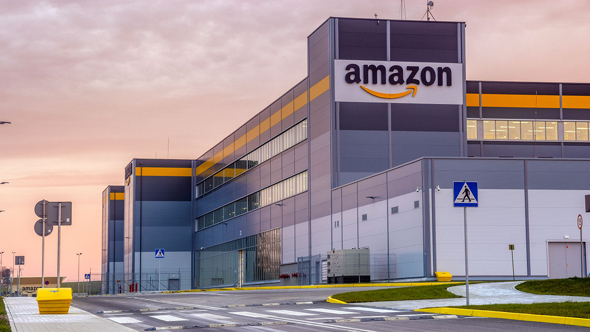 Amazon Logistics Center in Poland. Foto: Mike Mareen