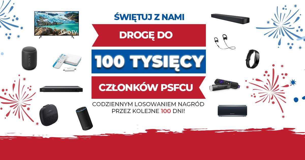"""Trwa konkurs dla Polonii """"Droga do 100 tys. Członków PSFCU"""""""