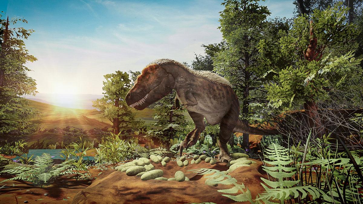 """""""T.Rex: Skeleton Crew"""" - aplikacja polskiej firmy Immersion VR dla Museum of Natural History w Nowym Jorku"""