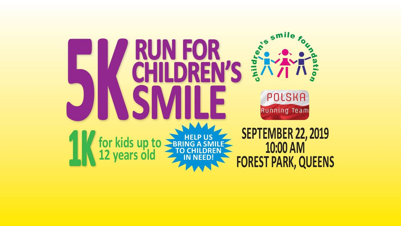 Bieg o Uśmiech Dziecka, 5K i 1K, w Nowym Jorku
