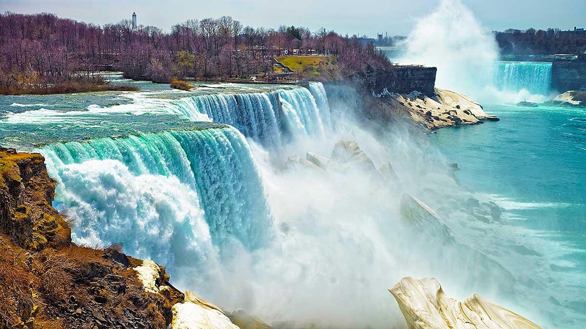 Wycieczki nad wodospad Niagara z Nowego Jorku - polska agencja Voyager Club USA