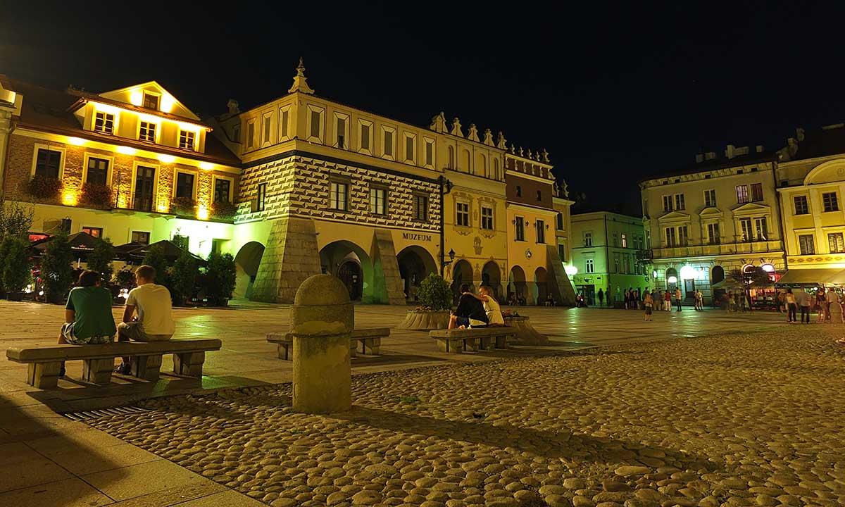 Platforma widokowa w Tarnowie