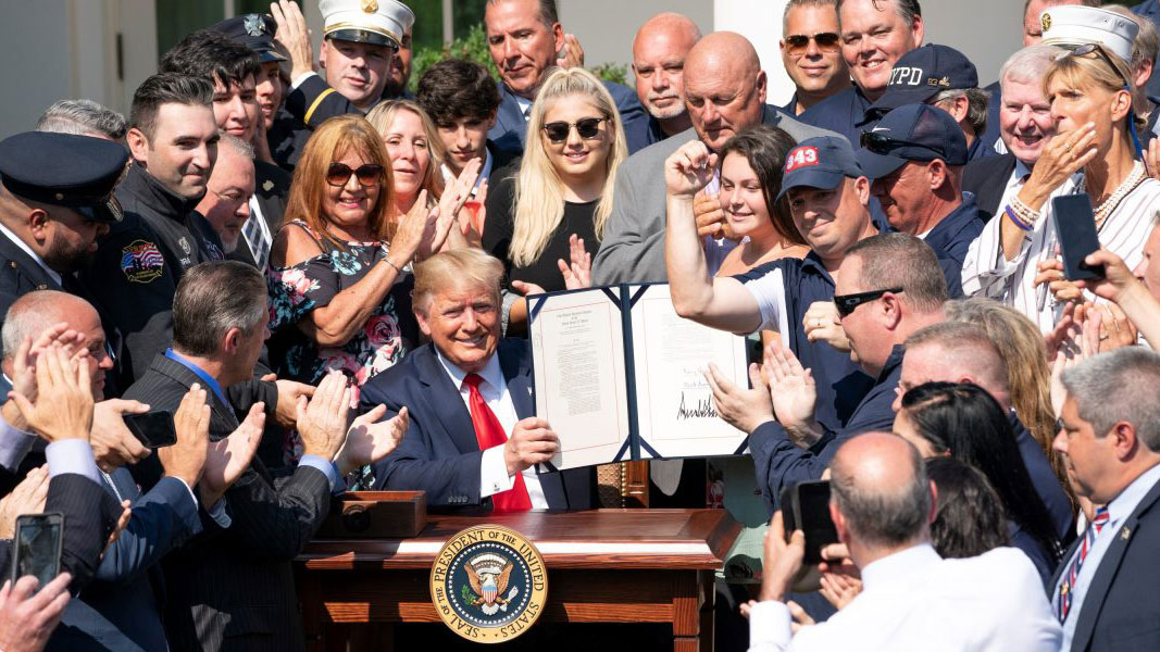 President Trump Permanently Reauthorizes September 11th Victim Compensation Fund