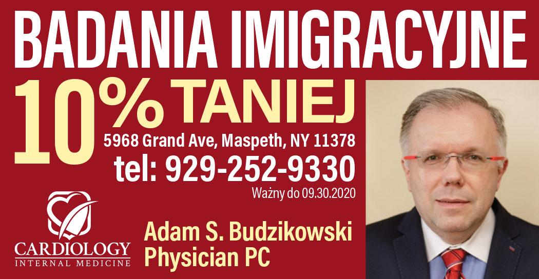 Polski kardiolog  w Nowym Jorku w polskich dzielnicach