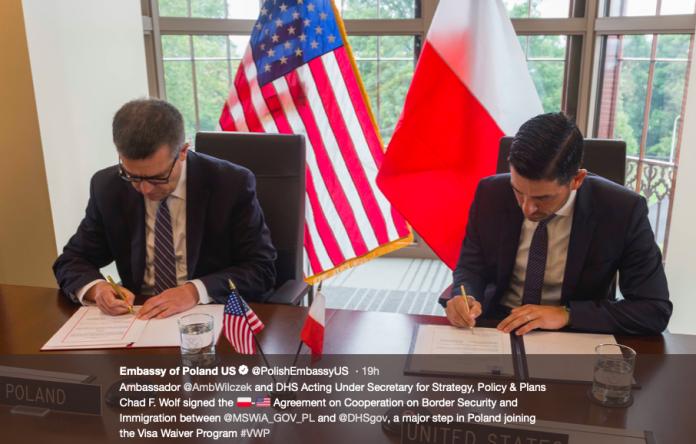 Włączenie Polski do programu ruchu bezwizowego VWP blisko?