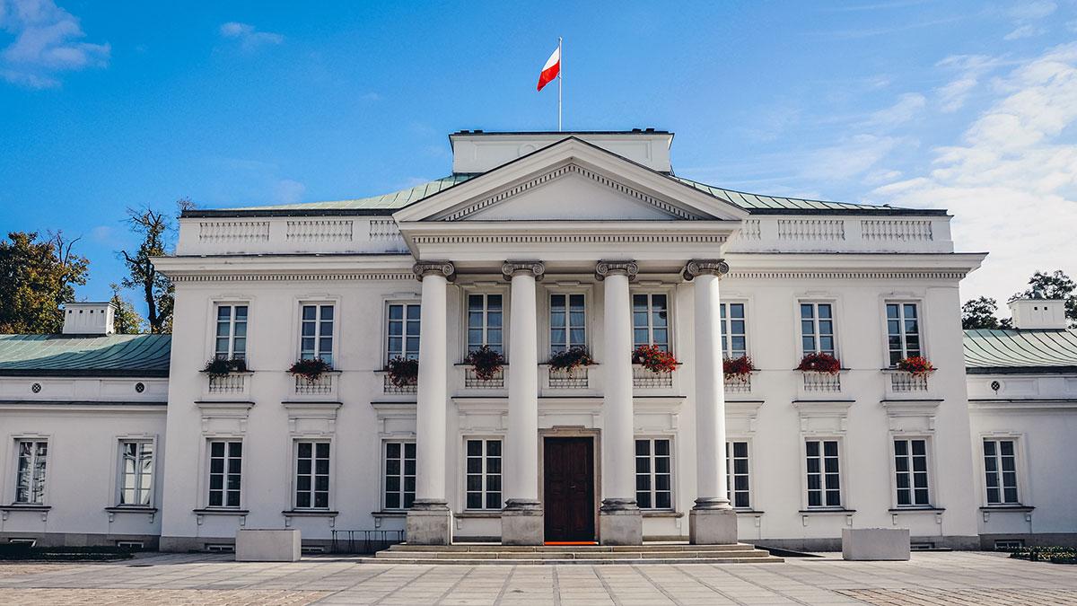 Belweder Palace. Foto: Fotokon