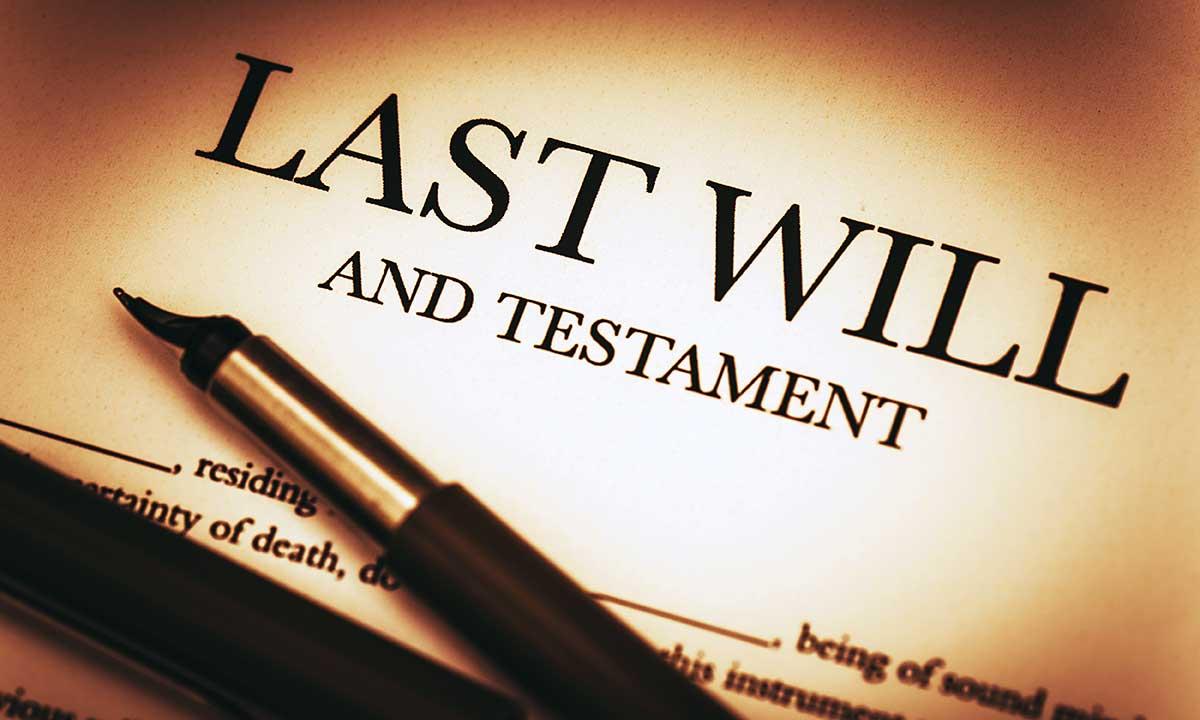 Spadek i testament w NJ - adwokat Robert Socha z Linden