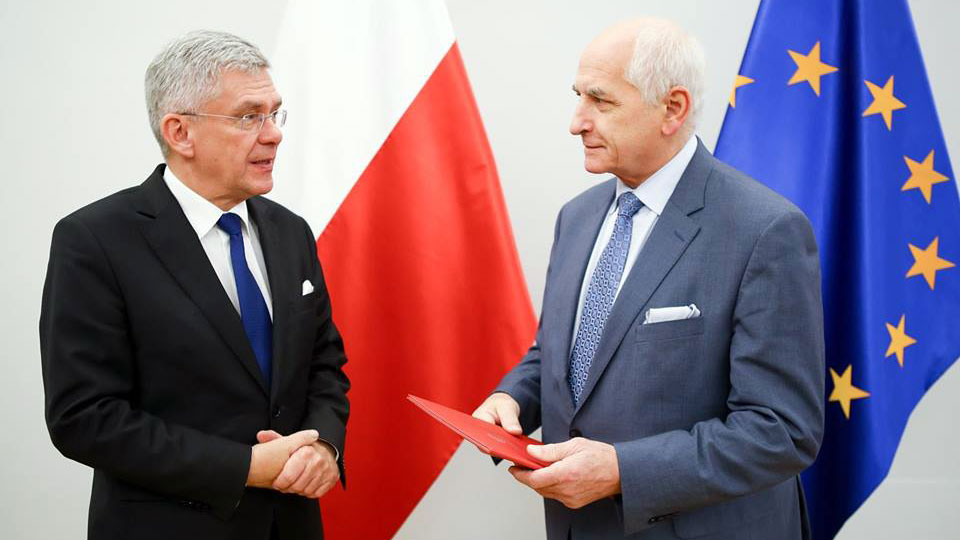 Stanisław Karczewski i Marek Rudnicki. Foto: Senat RP
