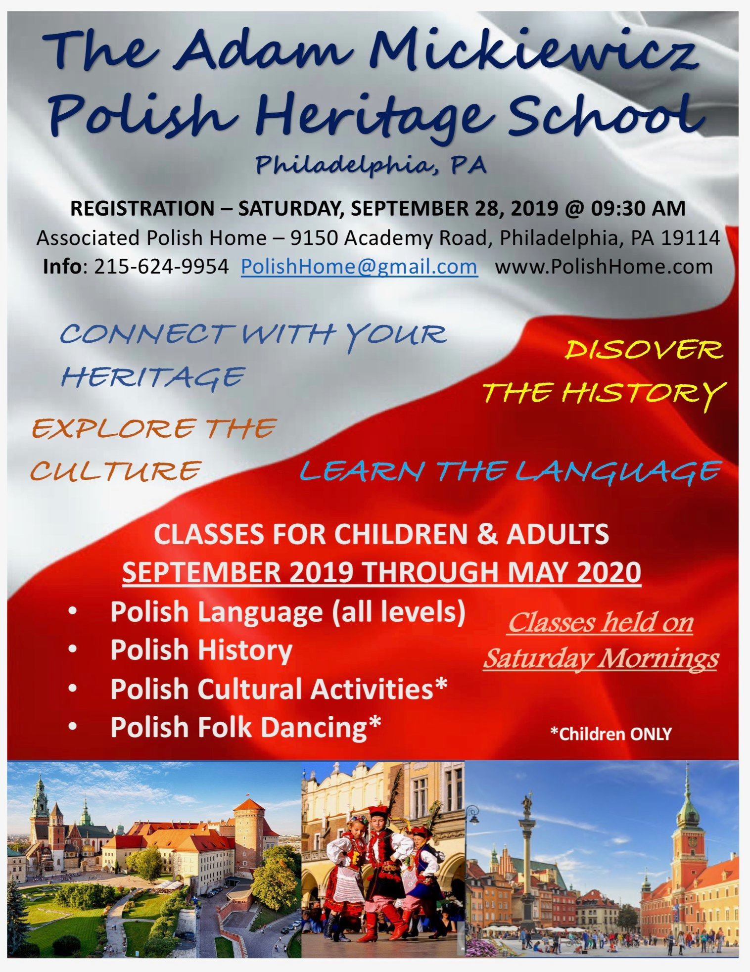 Learn Polish in Philadelphia, PA