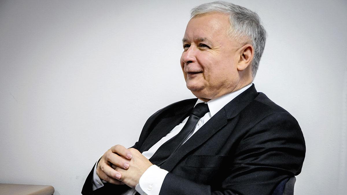 Jaroslaw Kaczynski, Law and Justice party. Foto: Fotokon