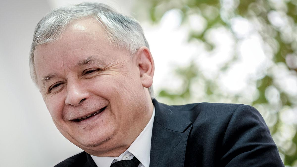 Jaroslaw Kaczynski. Foto: Fotokon