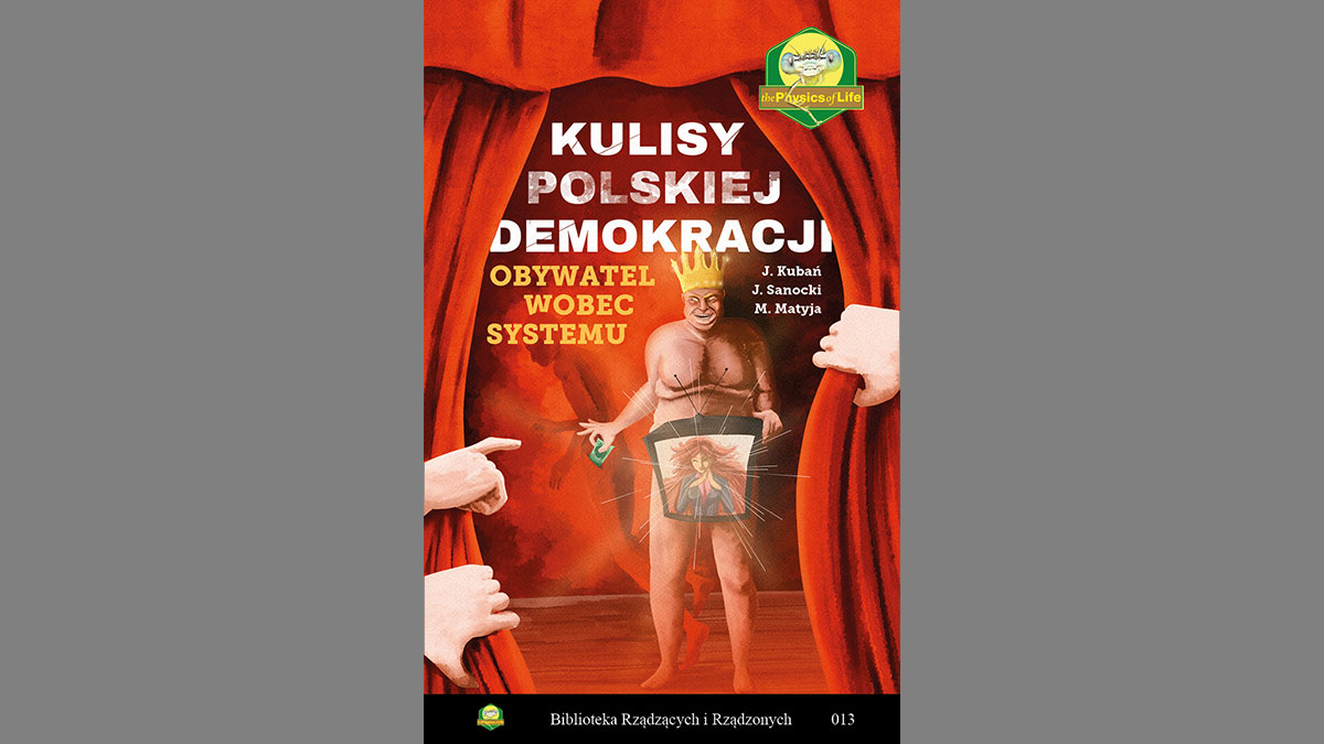 Wreszcie jest! Książka Janusza Sanockiego już na rynku księgarskim