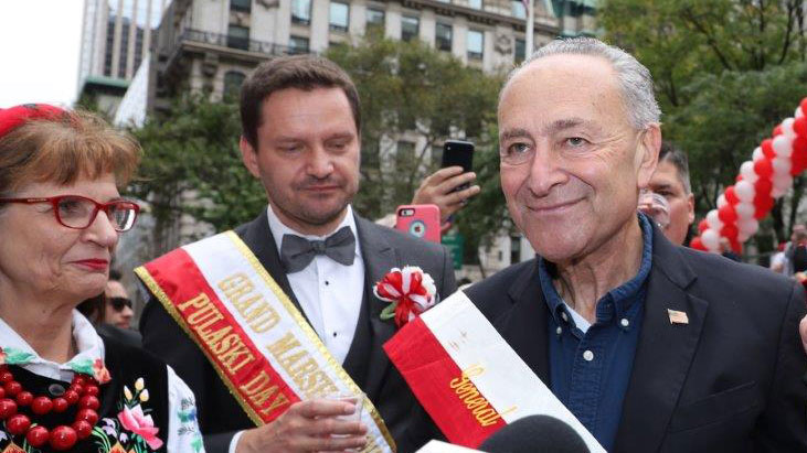 Pictures from Pulaski Day Parade 2019 in New York City