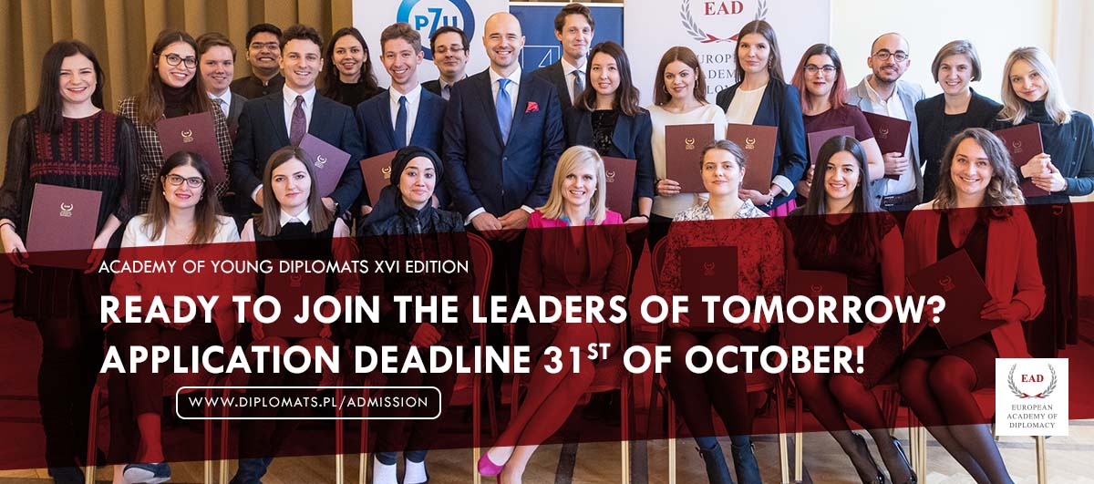 The Academy of Young Diplomats (AYD) - XVI Edition Program