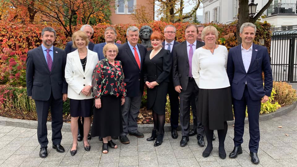 Ambassador Mosbacher Hosted a Breakfast in Honor of the  Board of Trustees of the Kosciuszko Foundation