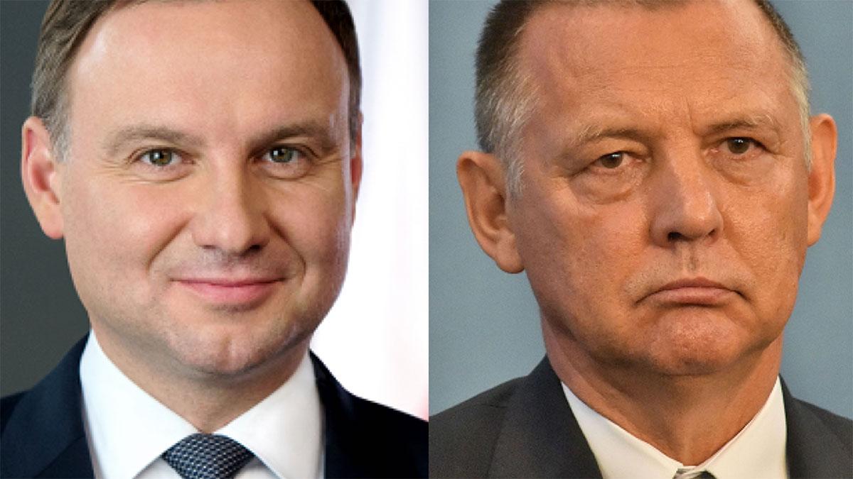 Andrzej Duda i Marian Banaś. Foto: Prezydent.pl / Wikipedia