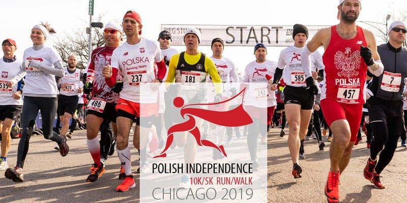 Bieg Niepodległości 2019 w Chicago - Polish Independence 10K/5K Run/Walk 2019