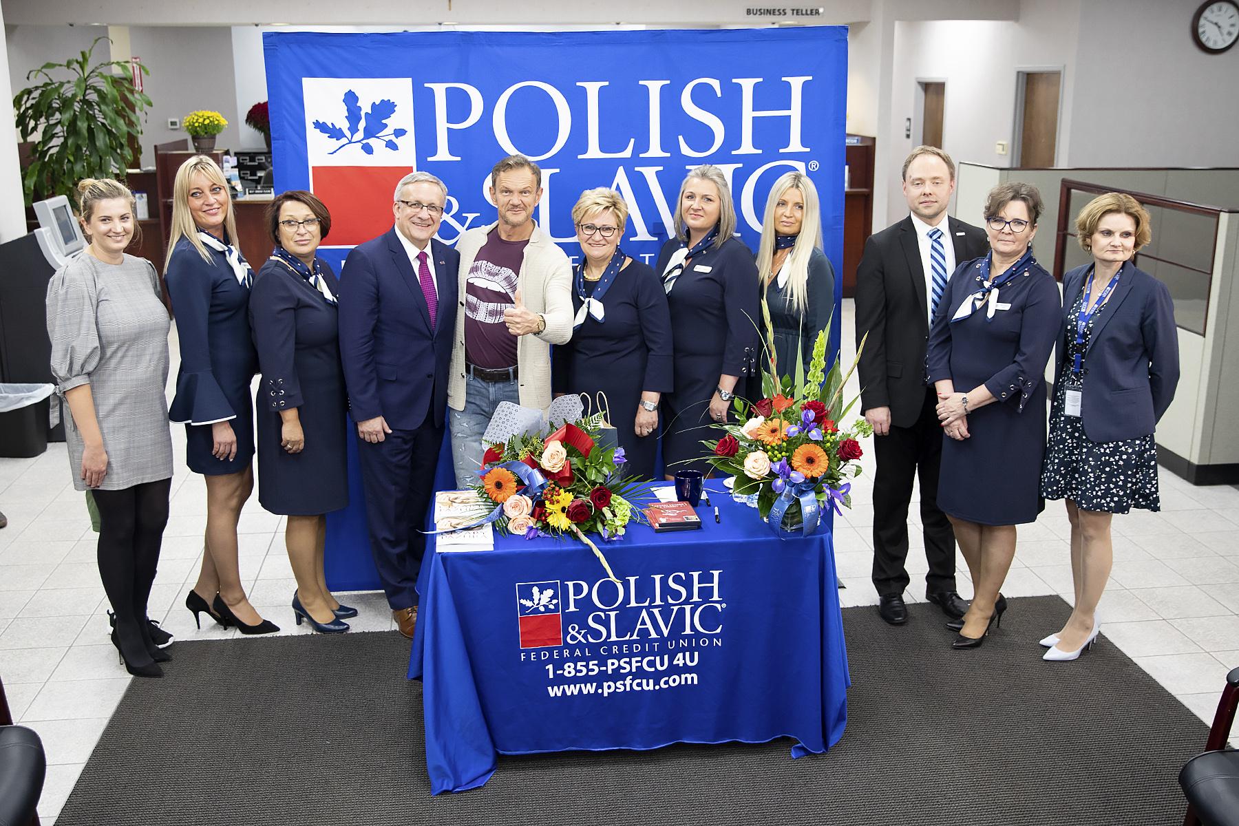 Cezary Pazura gościem Polsko-Słowiańskiej Federalnej Unii Kredytowej