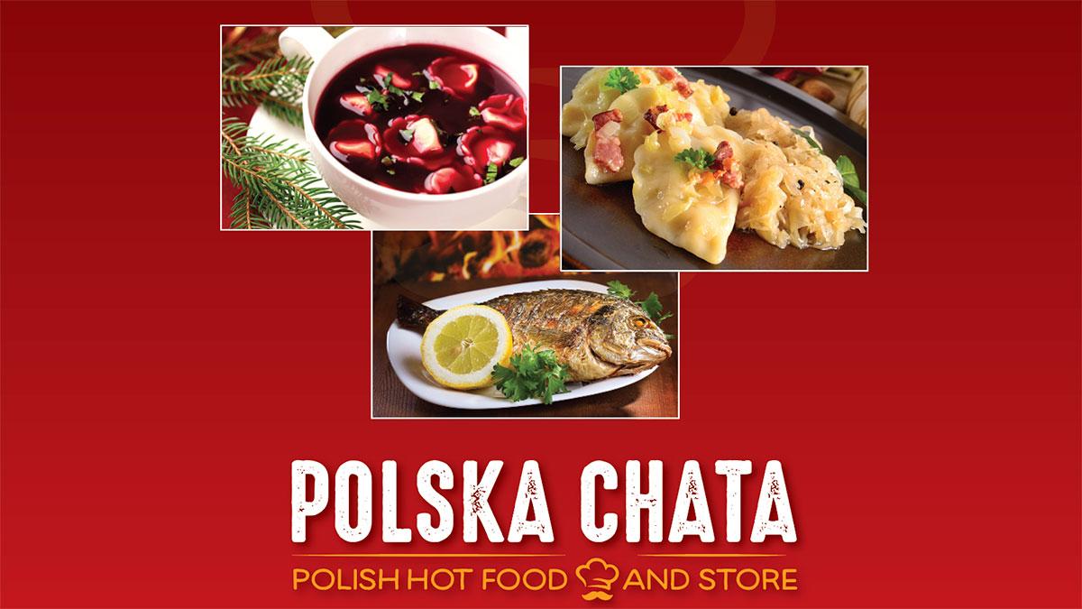 Sklep Polska Chata w NJ poleca dania świąteczne. Przyjmujemy zamówienia na Boże Narodzenie 2019