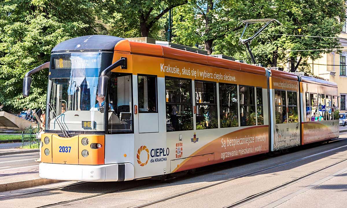 Nowa tramwajowa aplikacja - Google Transit w Krakowie
