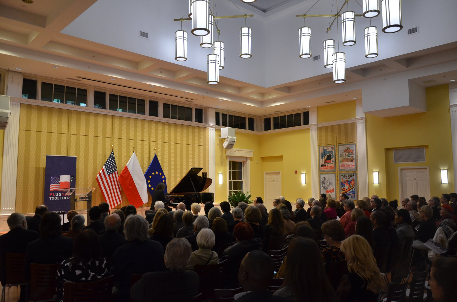 Koncert w Waszyngtonie z The Ignacy Jan Paderewski Piano Festival of Raleigh