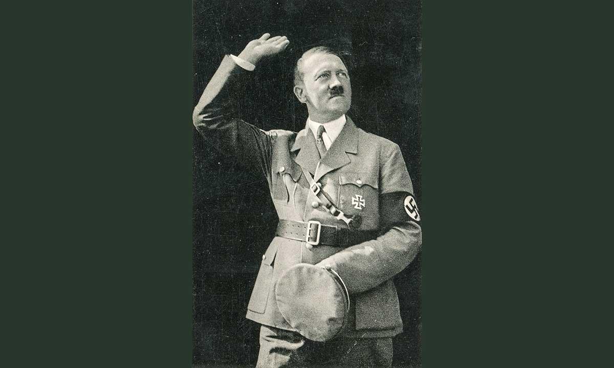 Policja w domu rodzinnym Hitlera