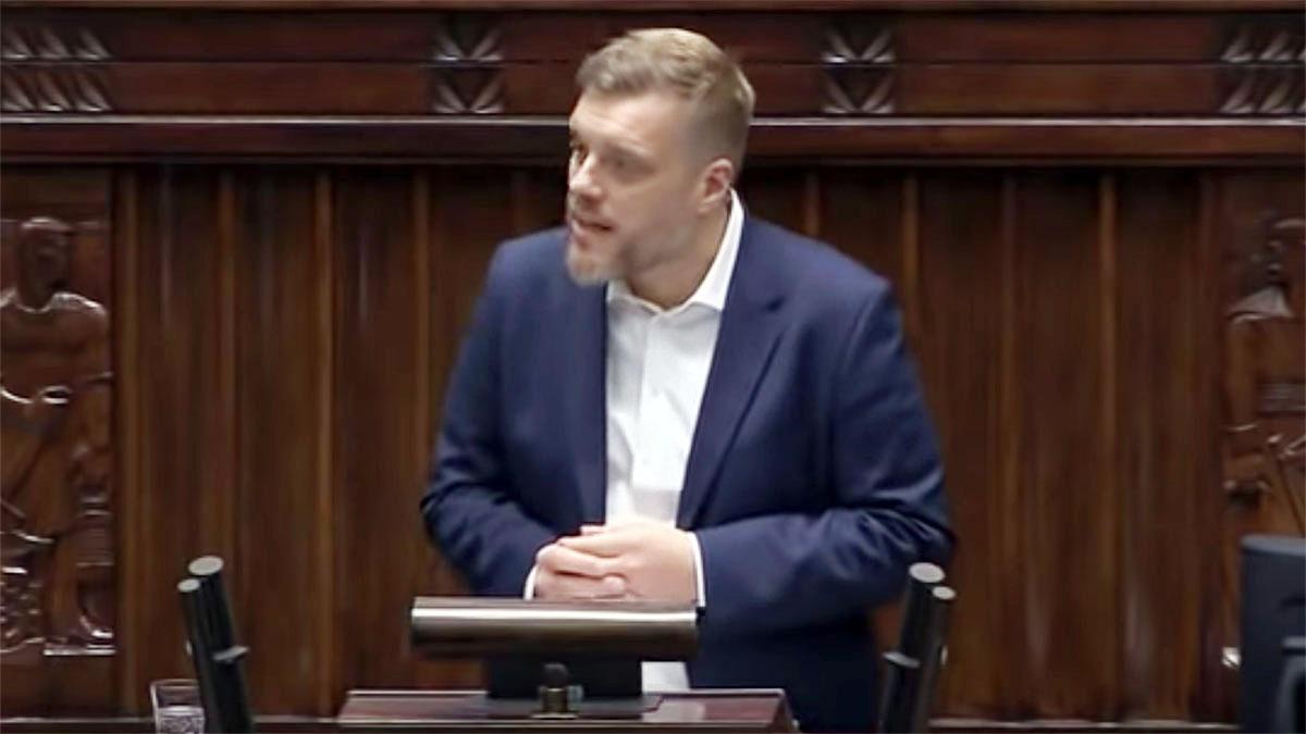 Adrian Zandberg - wystąpienie z 19 listopada 2019 r.
