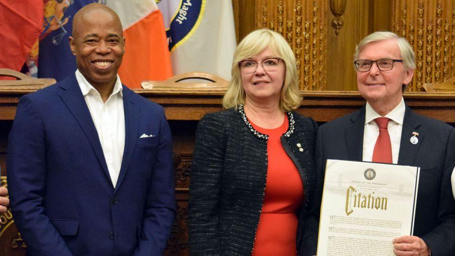 Polonia z Greenpointu doceniona przez Prezydenta Brooklynu