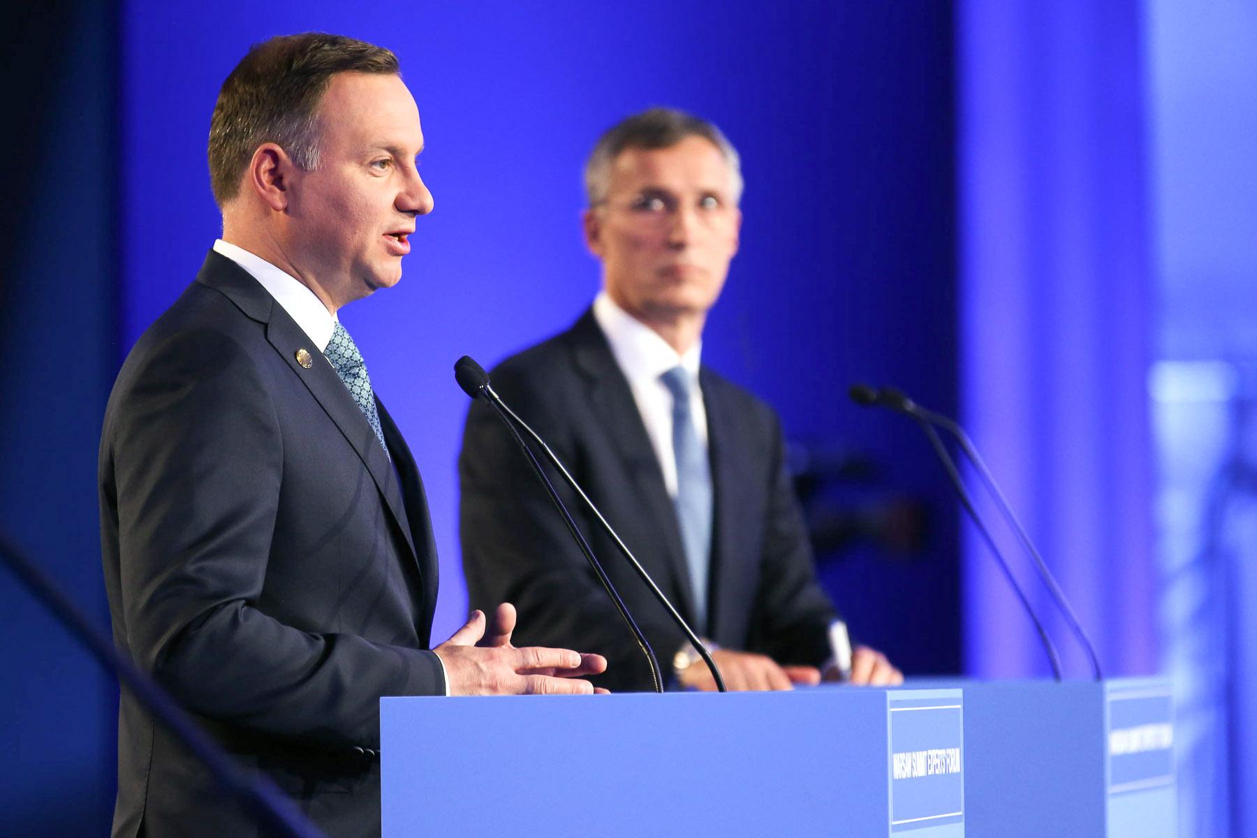 Prezydent Duda na szczycie NATO w Londynie