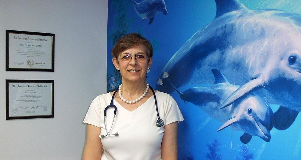 Polski lekarz dziecięcy w Nowym Jorku - pediatra Hanna Lesicka