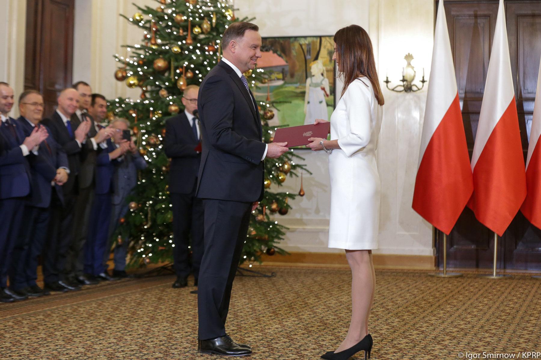 Polska Szpadziska Danuta Dmowska-Andrzejuk nowym Ministrem Sportu
