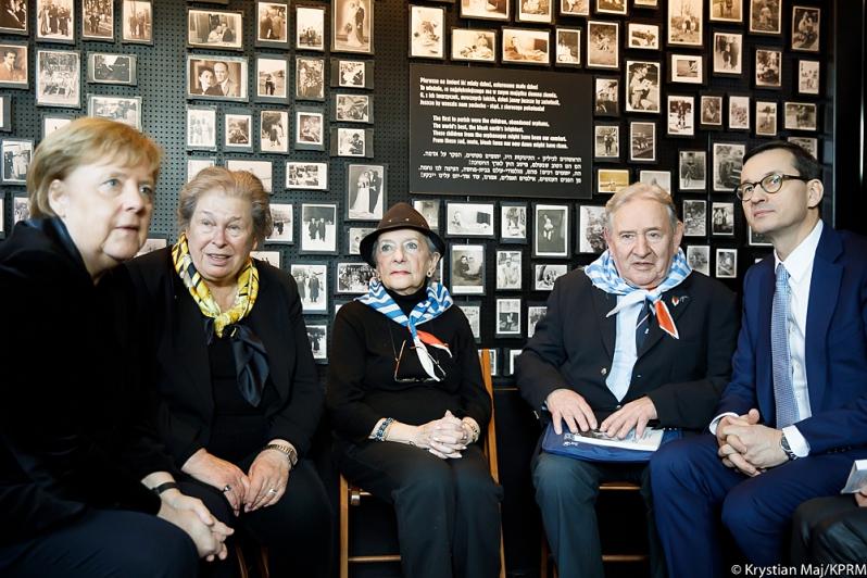 Uroczystości 10-lecia Fundacji Auschwitz-Birkenau z udziałem kanclerz Merkel i Premiera Morawieckiego