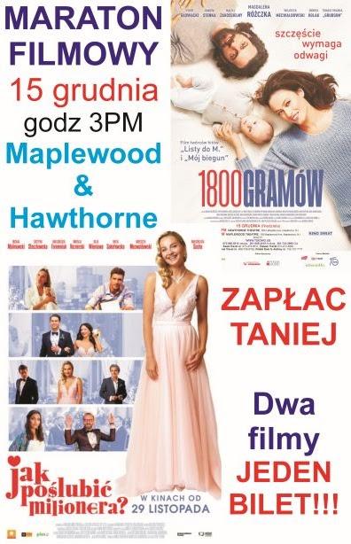 Polski Maraton Filmowy w kinach w New Jersey