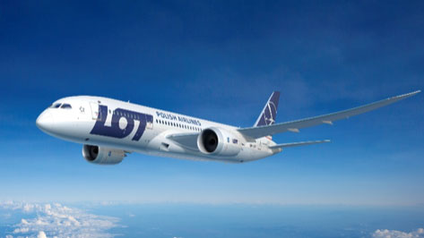 Nowy Rok w samolocie nad Krakowem - Lot LO2020