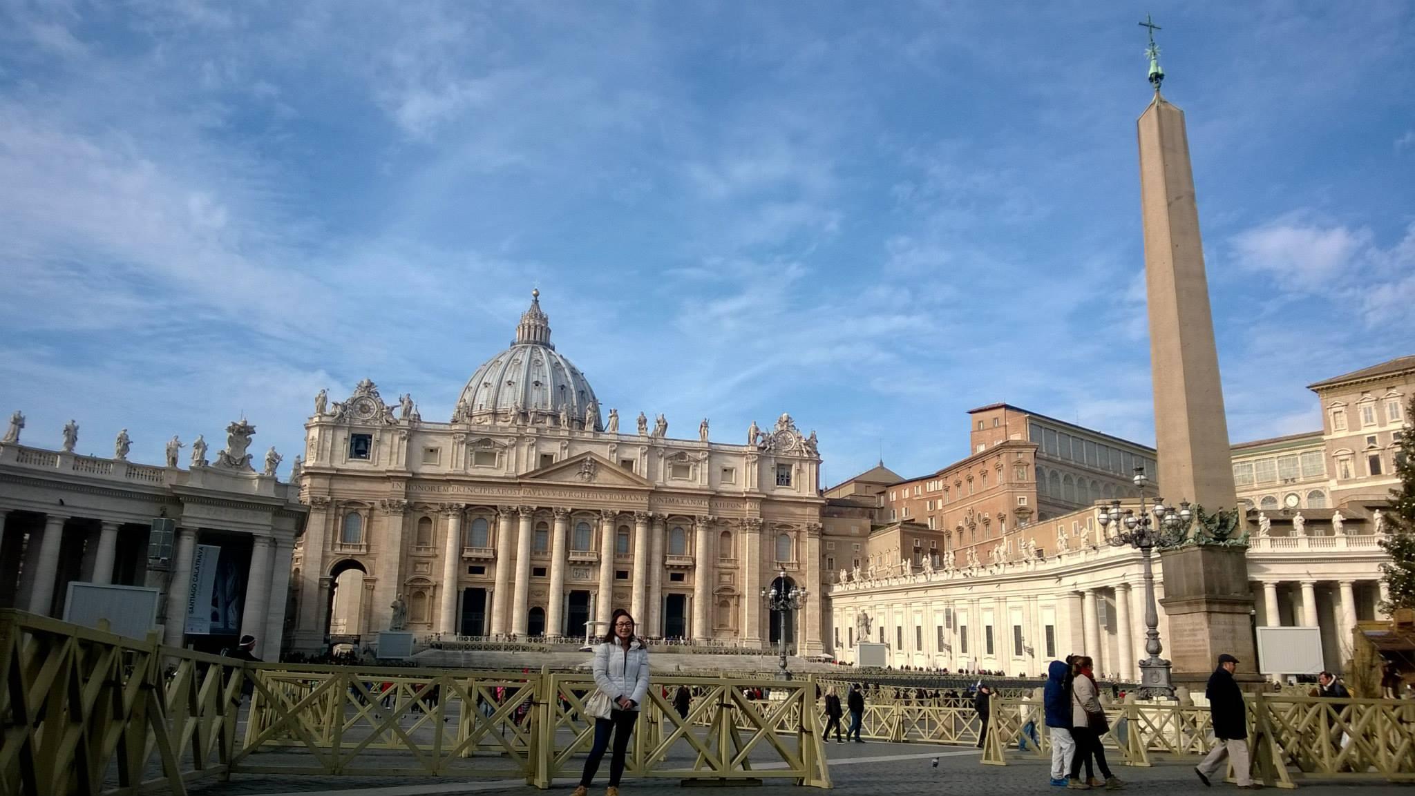Kamień młyński w Watykanie